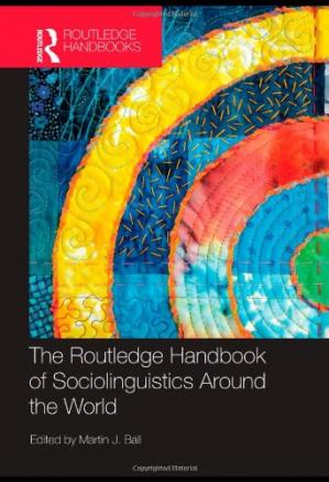 Εξώφυλλο βιβλίου The Routledge Handbook of Sociolinguistics Around the World