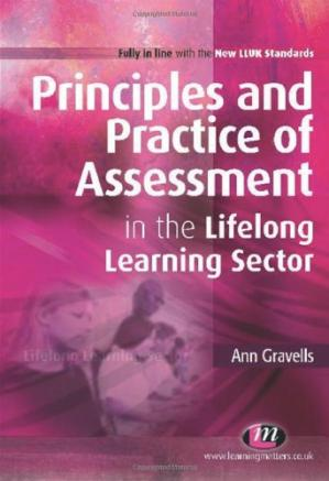 Book cover Principles and Practice of Assessment in the Lifelong Learning Sector