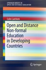 Book cover  Open and Distance Non-formal Education in Developing Countries