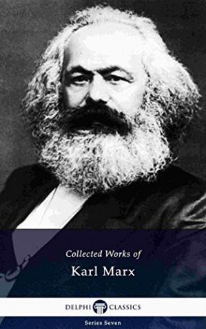 Book cover Collected Works of Karl Marx (Illustrated)