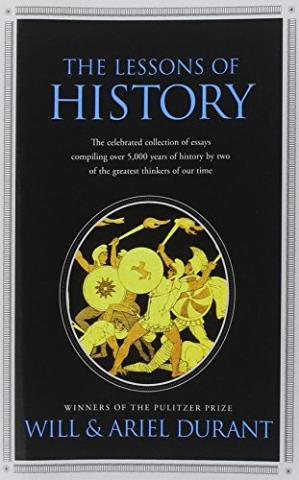 पुस्तक कवर The Lessons of History