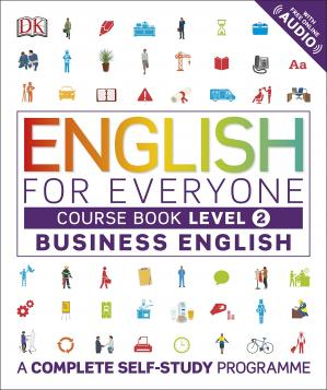 Book cover English for Everyone - Business English - Level 2 Course Book