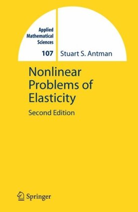 Обкладинка книги Nonlinear Problems of Elasticity