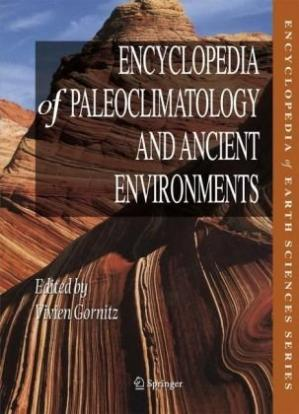غلاف الكتاب Encyclopedia of Paleoclimatology & Ancient Environments