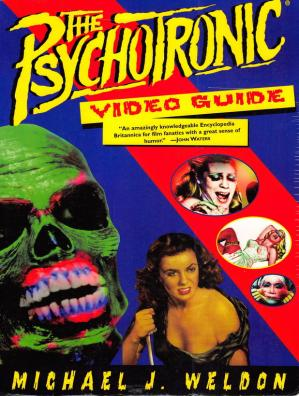 A capa do livro The psychotronic video guide