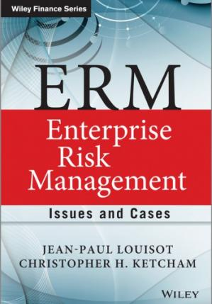 A capa do livro ERM - Enterprise Risk Management: Issues and Cases