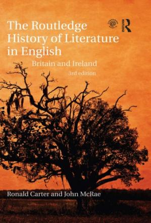 Buchdeckel The Routledge history of literature in English : Britain and Ireland
