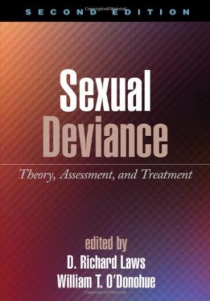 表紙 Sexual Deviance: Theory, Assessment, and Treatment, 2nd edition