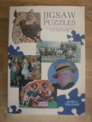 书籍封面 Jigsaw Puzzles: An Illustrated History and Price Guide