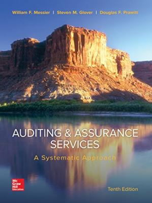 A capa do livro Auditing & Assurance Services: A Systematic Approach