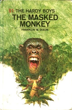 Book cover The Masked Monkey