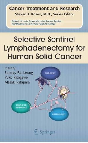 Couverture du livre Selective Sentinel Lymphadenectomy for Human Solid Cancer