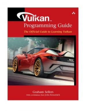 Book cover Vulkan Programming Guide  The Official Guide to Learning Vulkan (OpenGL)