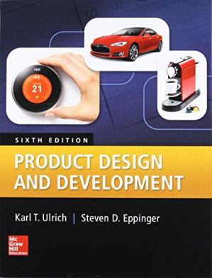Book cover Product Design and Development