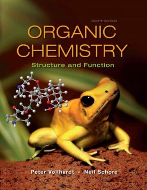 书籍封面 Organic Chemistry: Structure and Function