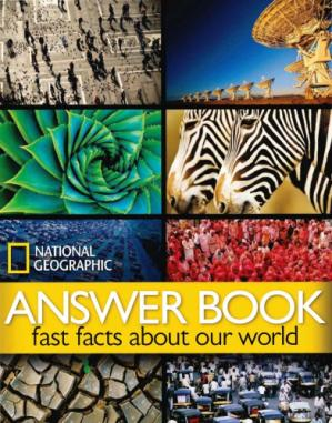 书籍封面 Answer book : fast facts about our world