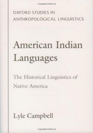 书籍封面 American Indian Languages: The Historical Linguistics of Native America