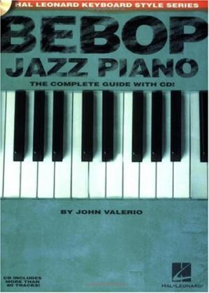 Buchdeckel Bebop jazz piano: the complete guide with CD!
