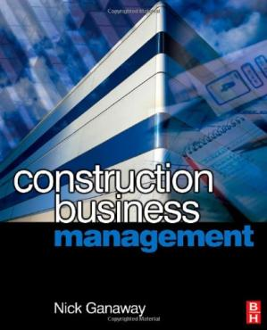 A capa do livro Construction Business Management: A Guide to Contracting for Business Success
