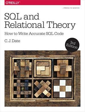 Portada del libro SQL and relational theory : how to write accurate SQL code