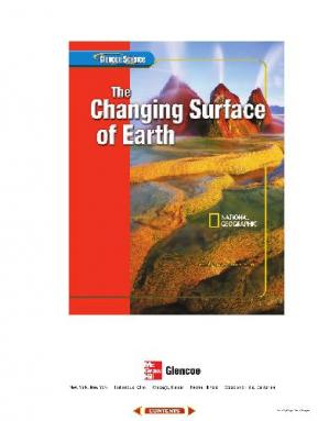 Book cover Glencoe Science: The Changing Surface of Earth, Student Edition