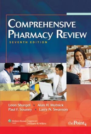 Book cover Comprehensive Pharmacy Review