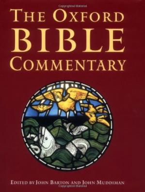 Copertina The Oxford Bible Commentary
