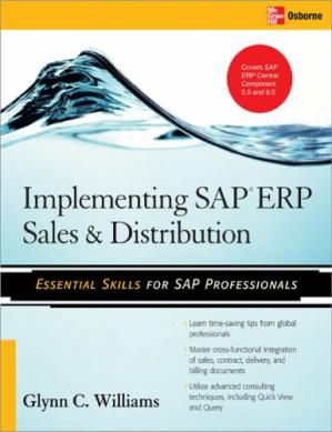 Portada del libro Implementing SAP ERP Sales and Distribution