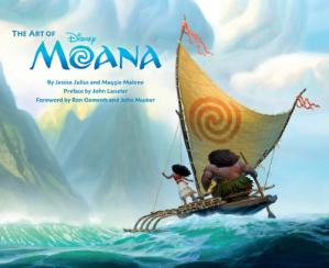 Book cover The Art of Moana