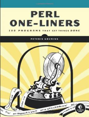 表紙 Perl One-Liners: 130 Programs That Get Things Done