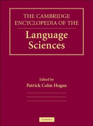 Book cover The Cambridge encyclopedia of the language sciences