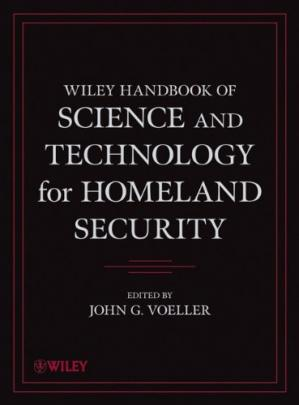 Portada del libro Wiley Handbook of Science and Technology for Homeland Security, 4 Volume Set