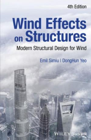 Book cover Wind Effects on Structures: Modern Structural Design for Wind