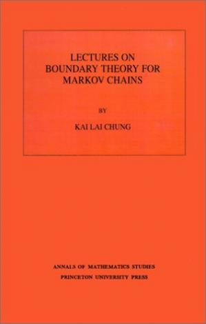 Okładka książki Lectures on Boundary Theory for Markov Chains