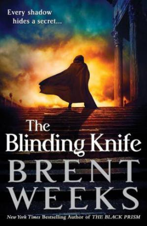Book cover The Blinding Knife