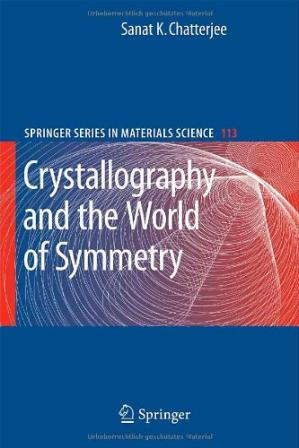 Εξώφυλλο βιβλίου Crystallography and the World of Symmetry