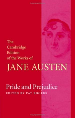 Book cover Pride and Prejudice (The Cambridge Edition of the Works of Jane Austen)