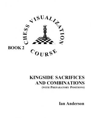 Εξώφυλλο βιβλίου Chess Visualization Course Book2: Kingside Sacrifices and Combinations (with preparatory positions)
