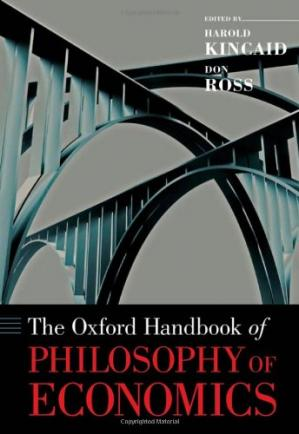 Okładka książki The Oxford Handbook of Philosophy of Economics