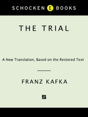 Book cover The Trial (A New Translation, Based on the Restored Text)
