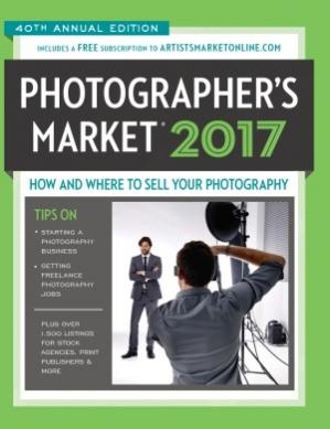 Обложка книги 2017 Photographer's Market: How and Where to Sell Your Photography