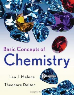 Copertina Basic Concepts of Chemistry, Eighth Edition