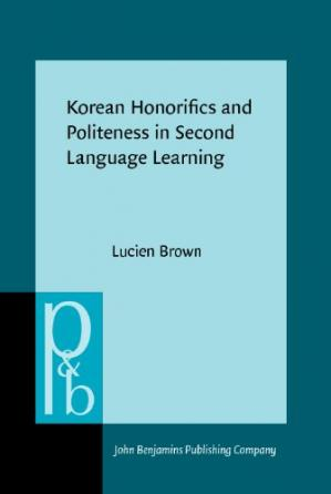 Book cover Korean Honorifics and Politeness in Second Language Learning