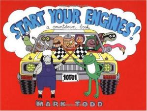 Book cover Start Your Engines: A Countdown Book