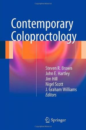 Book cover Contemporary Coloproctology