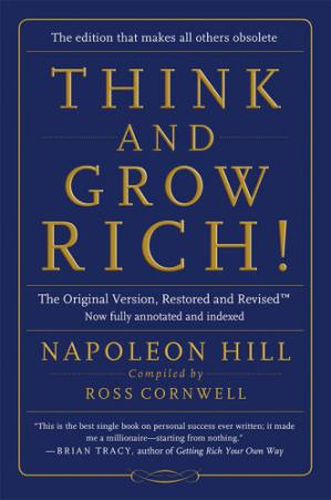 书籍封面 Think and Grow Rich!