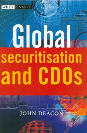 A capa do livro Global Securitisation and CDOs (Wiley Finance)