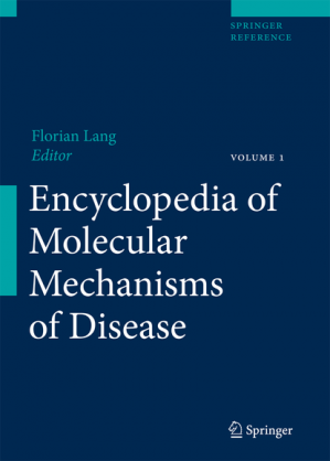 Book cover Encyclopedia of molecular mechanisms of disease