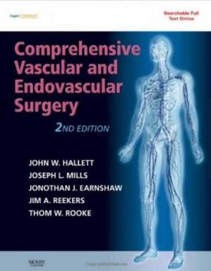 Обложка книги Comprehensive Vascular and Endovascular Surgery: Expert Consult - Online and Print, 2nd Edition