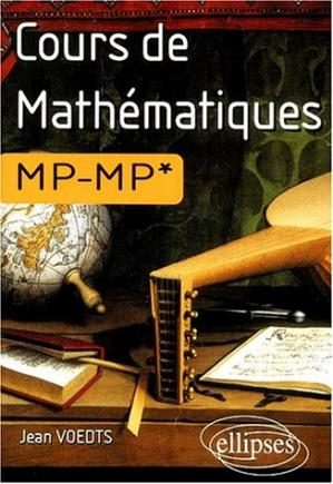 Book cover Cours de mathematiques MP